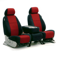 Black/Red Neoprene Sample Seats