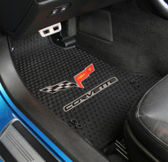 C6 Corvette Signature Rubber Floor Mat
