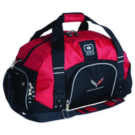 C7 Corvette Red & Black Duffle Bag