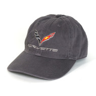 C7 Corvette Charcoal Gray Hat
