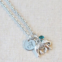 Overcome Any Obstacle Elephant Necklace - Lucky Elephant Gift
