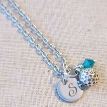 Gifts for GOLF Lover - Personalized Golf Ball Necklace