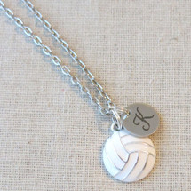 Personalized VOLLEYBALL Charm Necklace - Volleyball Team Gifts