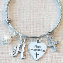 FIRST COMMUNION Bracelet - Girls First Communion Gift