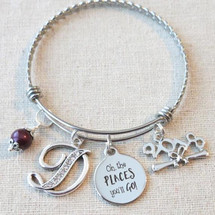 OH THE PLACES You'll Go Bracelet - Class of 2018 Gift