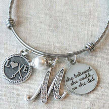 Hairstylist Graduation Gift - She Believed She Could So She Did