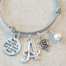 Nurse Graduation Gift - Bless Me with a Gentle Touch and a Caring Heart