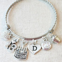 13th BIRTHDAY Gift - Teen 13th Birthstone Bracelet