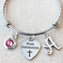 Little Girl's FIRST COMMUNION Bracelet