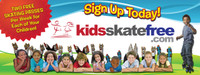 Promote your Kids Skate Free program with this heavy duty vinyl wall banner with corner grommets.  Ideal for hanging on a wall, booth or outdoor tent.  Measures 3' x 8'