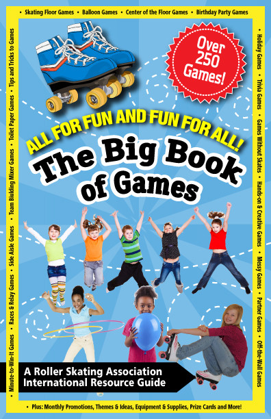 THE BIG BOOK OF GAMES (#GAMES3) This book of games comes with over 250 games, activity cards, samples, ideas, and much more. Includes games for all party types and ages.