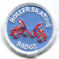 NEW! Embroidered Roller Skating Patch