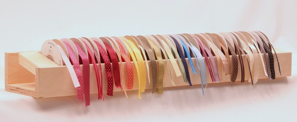 Look how pretty the ribbon looks?
