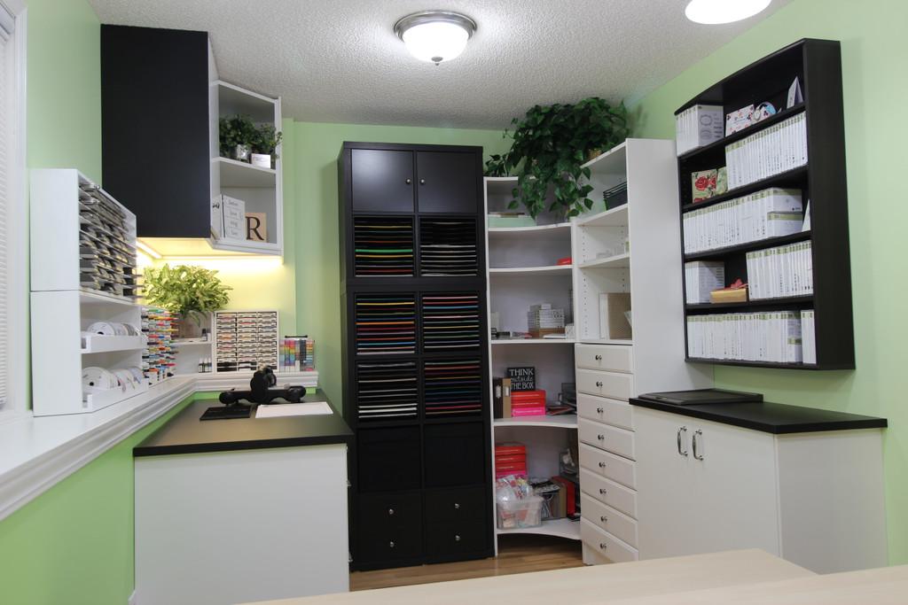 Rachel's Completed Craft Room Dream!