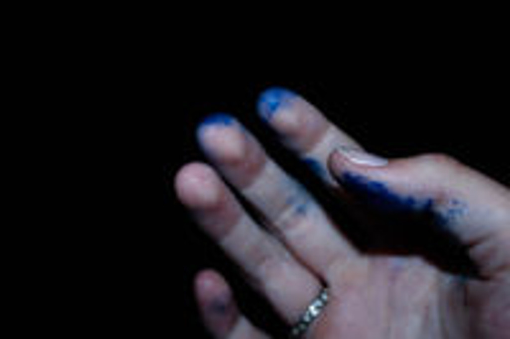 How do you remove ink from your hands?