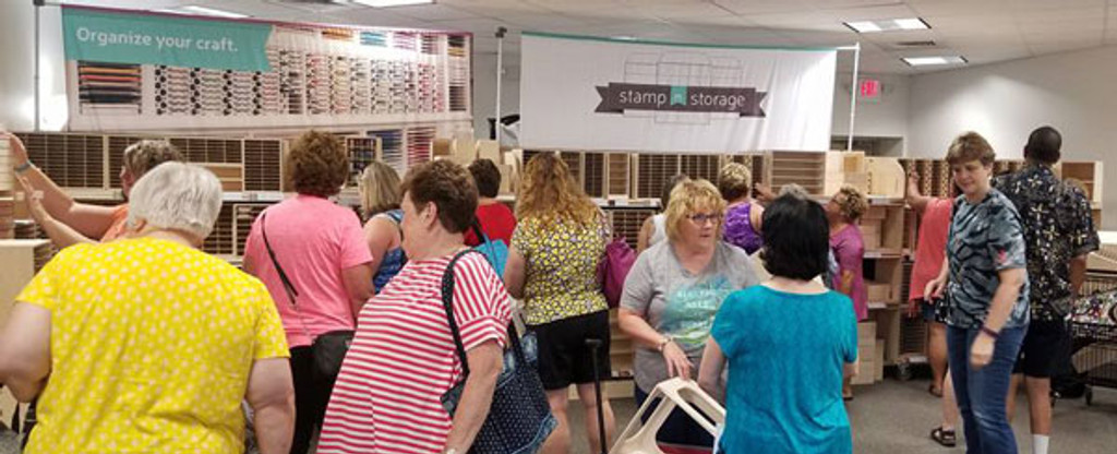 Would you like a Stamp-n-Storage Pop-Up Sale near you?
