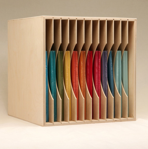 You can also store your paper vertically!