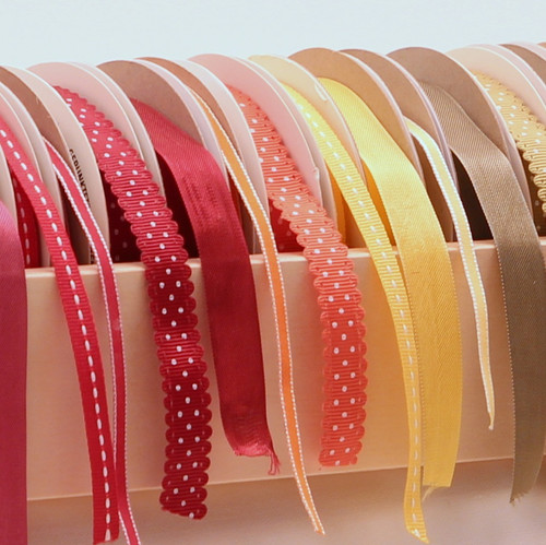 See how neat your ribbon collection will look?