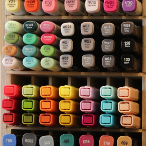 Need a place to keep your markers organized?