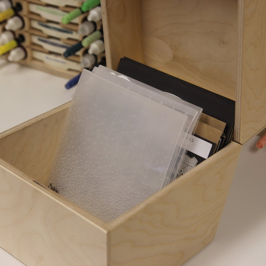 6x6 Embossing Folder Storage We Ve Got It Stamp N Storage