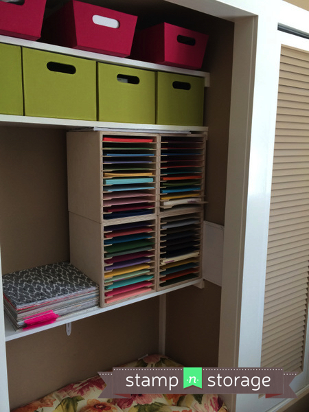 A Studio Worth Sharing Andrea D Stamp N Storage