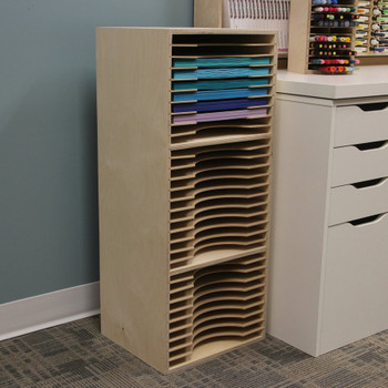 Stack up your paper in a Three-Tiered Paper Holder!