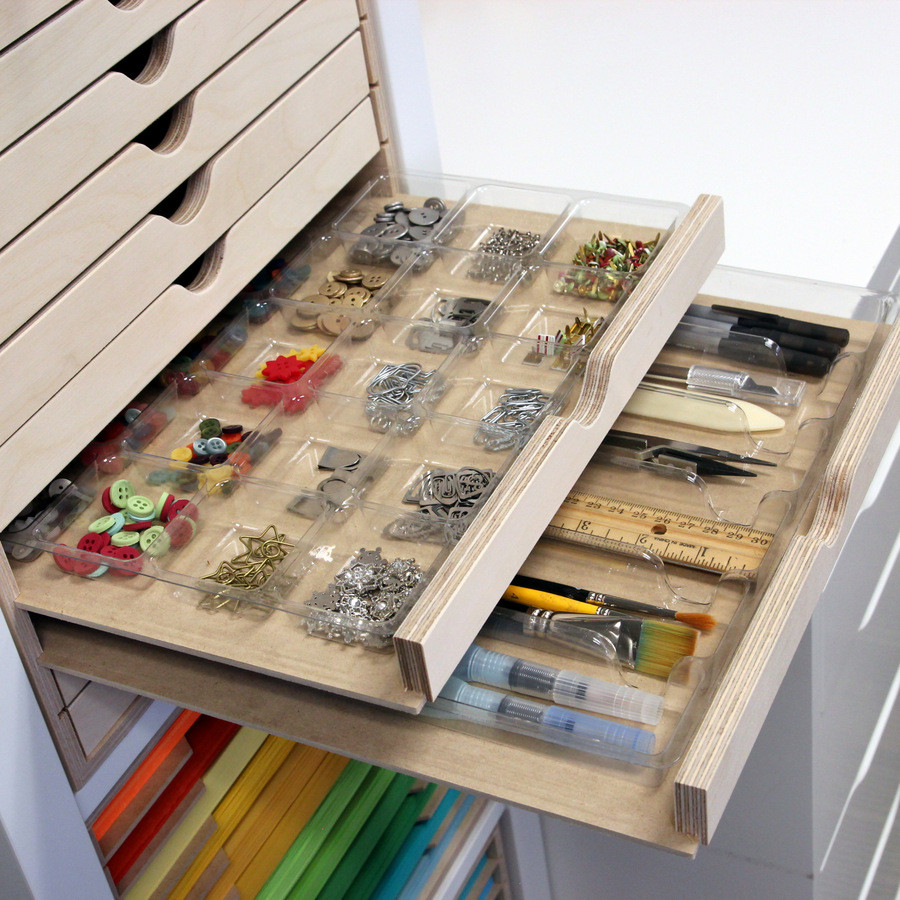 Drawer Cabinet Accessory Tray Stamp N Storage