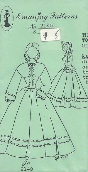 2140 - Jo Bonnet & Jacket Included - Emanjay Sewing Pattern