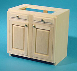 """HW13403 - Kitchen Cabinet Kit - 3"""" Base - stove/sink - Unfinished"""
