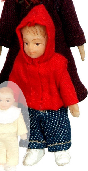 """Dollhouse Miniature - SD0046 - 1:24 (1/2"""" Scale) MODERN BROTHER"""