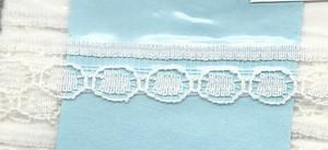 4190003 - Lace: White - Narrow