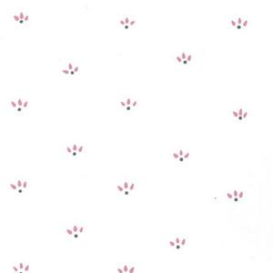 Dollhouse Miniature - MH5350 - Vinyl Floor: Pink & Gray Print