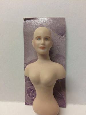 Dollhouse Miniature – Olivia 1 - Porcelain Doll Kit - Torso Only