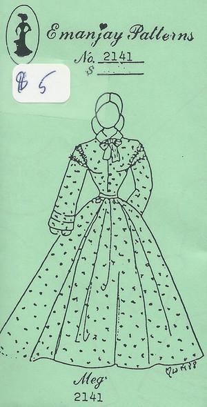 2141 - Meg Dress - Emanjay Sewing Pattern