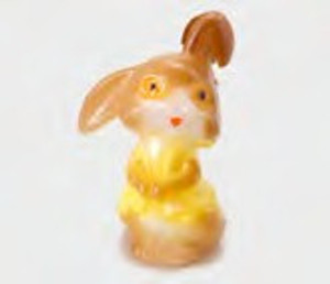 Dollhouse Miniature - M0930 - Brown Bunny Rabbit
