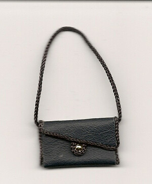 1581 - Purse  Black  Extra Large