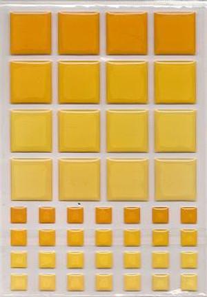 Dollhouse Miniature - 57400 - TILES ORANGE