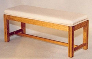 DAS031 - Daisy House Furniture Kit - Upholstered Bench Kit
