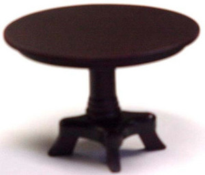 **DISCONTINUED** - D0809 - Round Table - Mahogany