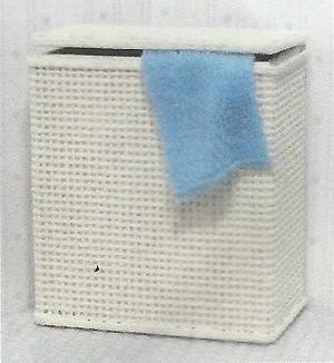 "DAS037 - Daisy House Furniture Kit -  ""Wicker"" Laundry Hamper Kit"