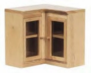 **DISCONTINUED** - T4122 - Corner Cabinet - Upper - two glass doors