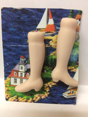 Dollhouse Miniature -LOW HEEL - Porcelain Doll Kit Legs Only