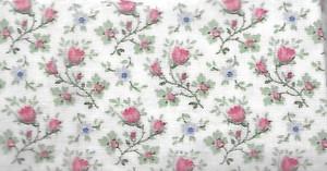 "29231 - Fabric:  Cream - Pink & Purple Floral - 8"" x 12"""