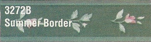 MG3272B - WP Border - Green Floral