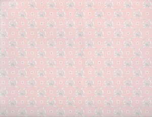 MGP3112 - WP - Peach w/Gray Bows