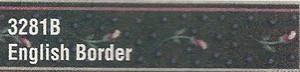 MG3281B - WP Border - Hunter Green Floral