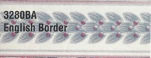 MG3280BA - WP Border - Blue Floral