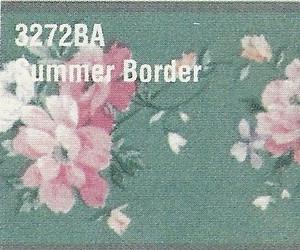 MG3272BA - WP Border - Green Floral