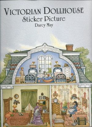 0-486-40375-0  Victorian Dollhouse Sticker Book