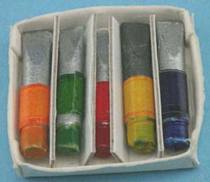 Dollhouse Miniature - IM65513 - PAINT TUBES